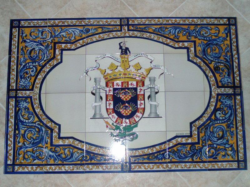 Cer mica del sur azulejos pintados a mano z calos y murales for Encimeras del sur
